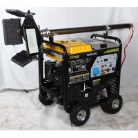 China WAGL200 200A Engine Driven Welding Machine With Air Compression / Lighting Functions wholesale