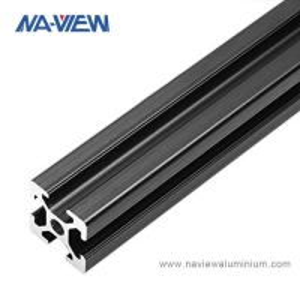 China Customized Black Aluminium Angle Extrusion Profile wholesale