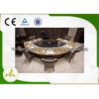 Buy cheap Pipeline Natural Gas Fan Shape 9 Seats Teppanyaki Grill Table 8kw product