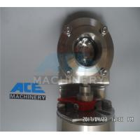 Sanitary Medium Pressure 1/2-10 Motorized Pneumatic Butterfly Valve