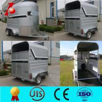 China Horse trailer used with best price,straight load 2 horse float wholesale