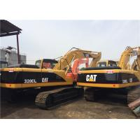 China 20 Tonne Second Hand Excavators 90% UC , Cat 320 Excavator 3 Years Guarantee wholesale
