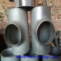 Buy cheap Seamless or weld Stainless Steel Tee 310s 9 04l A815 S31803 S32205 2205 F51 from wholesalers