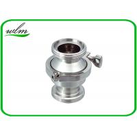 China High Performance Sanitary Check Valve , Stainless Check Valve DN25-DN100 wholesale