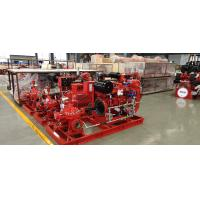 China Horizontal End Suction Electric Motor Driven Fire Pump 68.2M3/H 60m UL FM NFPA20 on sale