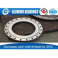 China Four Points Contact Rotary Table Bearing /  Slim Section Bearings For Military Products on sale