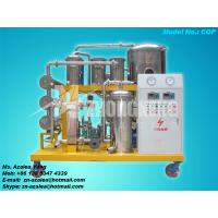 China Series COP Vacuum Used Cooking Oil Purifier wholesale