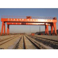 China Double Beam Rail Mounted Gantry Crane For Automobile / Construction / Engineering Industries wholesale