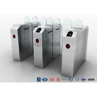 Quality Barcode Cargo Door Waist Height Turnstiles , Electric Access Control Turnstile for sale