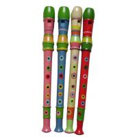 China Colorful Toy Musical Instruments Orff 8 Hole Wood Flute wholesale