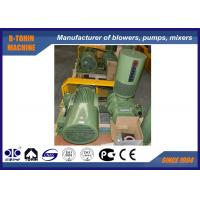 China Low noise army green three Lobe Roots Blower , ozonizer , oxygen generator for aquaculture air blower wholesale