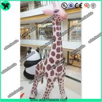 China 6m High Inflatable Giraffe,Inflatable Giraffe Cartoon, Giraffe Animal Inflatable wholesale