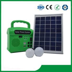 China Mini solar energy lighting kits, solar power portable electricity generator 6V7AH wholesale