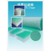 China High Arrestance G4 Fiberglass Air Filters 50mm For Absorbing The Soot wholesale