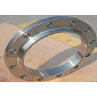 China Open Die Forged Steel Flanges / Ring Flange Forging In Natural Gas Pipeline wholesale