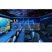 China Special Decoration 5D Movie Theater with Customized Movies for Theme Park wholesale