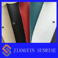 China PU Synthetic Leather Upholstery For Red Leather Car Seat Cushion Cover wholesale