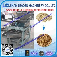 China High Efficiency Stainless steel peanut crushing machine for Beans and nuts wholesale