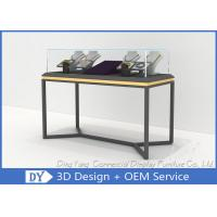 Buy cheap All In One Services Inexpensive Metal Glass Jewelry Display Cases from wholesalers