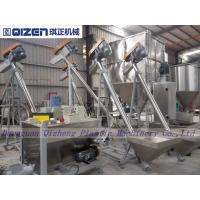 China Stainless Steel Inclined Screw Conveyor , Small Size Screw Feeder Conveyor wholesale