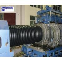 Buy cheap PE / PVC Double Wall Corrugated Pipe Extrusion Line Automatic from wholesalers