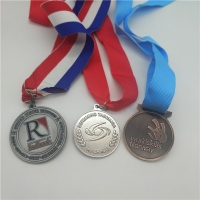Buy cheap Gold Plated 3d Blank Award Custom Sports Medals from wholesalers