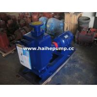 China ZW self-priming non-clogging sewage pump wholesale