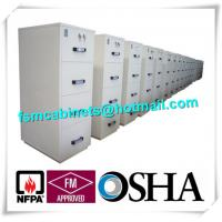 China Fireproof Lockable Filing Cabinet JIS Standard For Books / Customer Information / Contracts wholesale