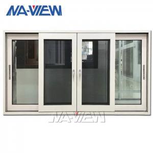 China Frameless Aluminium Sliding Windows Custom Sliding Glass Reception Window Kit wholesale