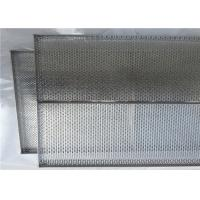 China Food Grade Stainless Steel Mesh Tray Corrosion Resistance For Oven wholesale