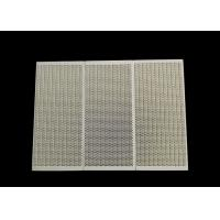 China Stove Use Infrared Ceramic Honeycomb Gas Heater Ceramic Plate 163*73*13mm wholesale