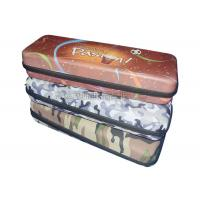 China Brown Pattern EVA Dinnerware Storage Boxes / Lunch Tote Bag Polyester Materials wholesale