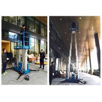 China Outdoor 14 Meter Height Electric Scissor Lift Platform For Window Cleaning wholesale