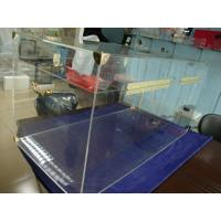 China 6mm Acrylic Storage Boxes Clear Plexiglass Truck With Golden Hardwares wholesale