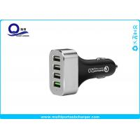 Buy cheap 48W 9.6A 4 Port Smartphone Car Charger with QC 2.0 Supported for Galaxy S7 S6 from wholesalers