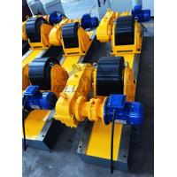 China Conventional Turning Roll Tank Welding Rotators PU 40000kgs Driving Inverter wholesale