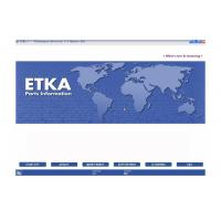 China ETKA Electronic Catalogue V7.5 Automotive Scan Tool Software For Audi VW Seat Skoda wholesale