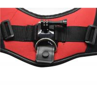 Quality Nylon Pet Harness Chest Strap Belt Wearable Camera Mount with Screw for sale