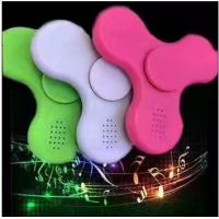 China LED Light Hand Finger Spinner Fidget Plastic EDC Hand Spinner For Autism and ADHD Relief Focus Anxiety Stress Gift Toy wholesale
