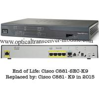 China 4 LAN Ports Wired Cisco 800 Series Router CE Certification CISCO881/K9 wholesale