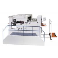 Buy cheap Flat Bed Die Cutting Machine Semi - Automatic For Corrugated Paper from wholesalers