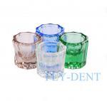 China Multi-Purpose GLASS DAPPEN DISH for dental, tattoo or nail spa New wholesale