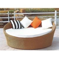 China Modern round rattan daybed furniture wholesale