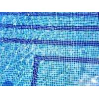 Buy cheap Crystalline-Glazed Swimming Pool Mosaic Tile from wholesalers