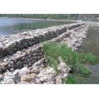 Quality Gabion Baskets / Gabion Retaining Wall Low - Carbon Iron Wire Material for sale