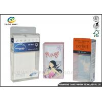 China Custom PVC/PET/PP  Electronic products Packaging Clear Transparent .25mm - 0.6mm Thickness Plastic Boxes wholesale