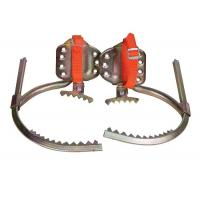 China Aluminum Alloy Concrete Pole Climbing Irons For 6 - 8 M Climbing Wire Pole on sale