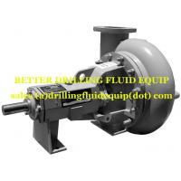 China Dragon Type Premium 250 Centrifugal Pump  8x6x14 mechanical seal Casing with Wear Pad Hard Iron Ductile Iron wholesale