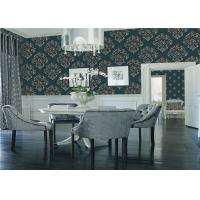 China Three Dimensional Modern House Wallpaper Washable With Flower Design wholesale