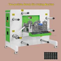 China Servo Motor Drive Round Knife Rotary Die Cutting Machine For Optical Materials wholesale